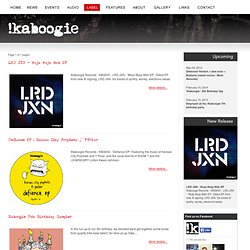 Latest releases from !Kaboogie Records