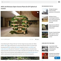 IKEA Lab Releases Open-Source Plans for DIY Spherical Garden