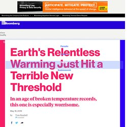 Earth's Relentless Warming Just Hit a Terrible New Threshold