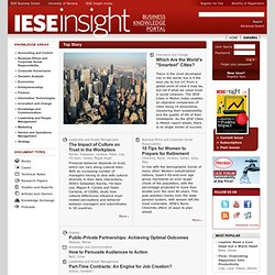 IESE Insight - Relevant Business Knowledge
