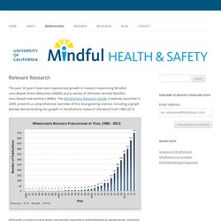 UC Mindful Health & Safety