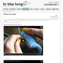 | Relever les mailles | in the loop