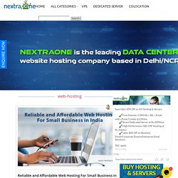 Reliable And Affordable Web Hosting For Small Business In India