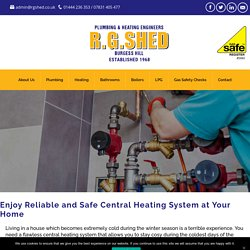 Enjoy Reliable and Safe Central Heating System at Your Home