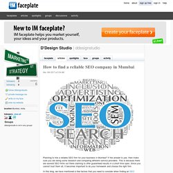 How to find a reliable SEO company in Mumbai