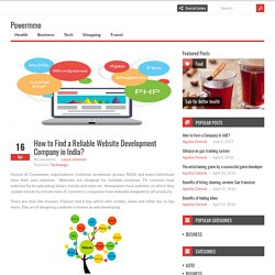 How to Find a Reliable Website Development Company in India?