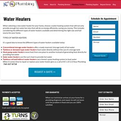 Water Heaters Palm Springs CA