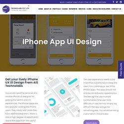 Reliable iPhone App UI Design Service – Best iPhone UI Designer