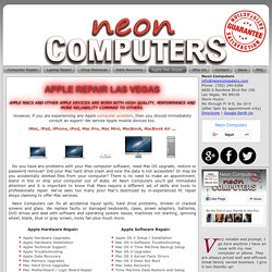 Reliable Apple Repair Services in Las Vegas - Neon Computers