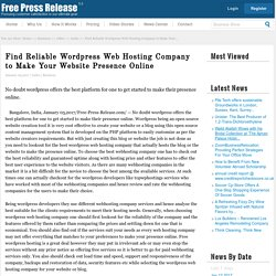 Best WPEngine Wordpress Hosting Service