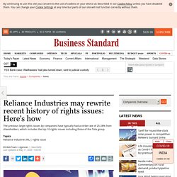 Reliance Industries may rewrite recent history of rights issues: Here's how