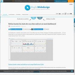 Reliez toutes les stats de vos sites web en un seul dashboard