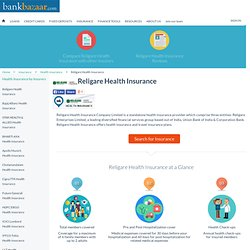 Religare Health Insurance - Apply Online