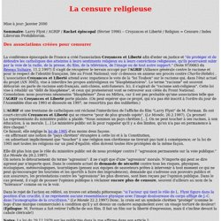 Censure religieuse. Index Librorum Prohibitorum