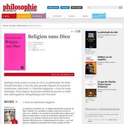 Fiche de lecture, Athéisme, Religion, Ronald Dworkin, État, Loi, tolérance