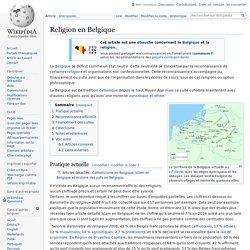 Religion en Belgique