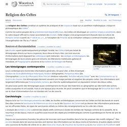 Religion des Celtes