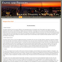 Religion Flow Chart – Faiths and Freedom