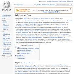 Religion des Daces