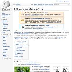 Religion proto-indo-européenne