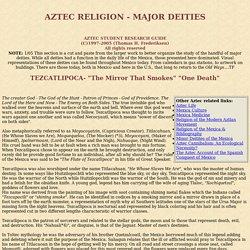 Aztec Religion - Introduction Aztecs of Mexico History