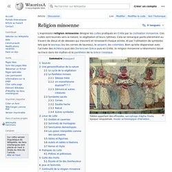 Religion minoenne