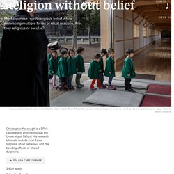Can religion be based on ritual practice without belief?