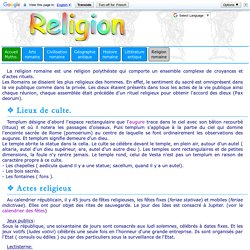 Religion romaine