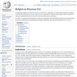 Religion au Royaume-Uni