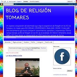 BLOG DE RELIGIÓN TOMARES: CoronaVirus