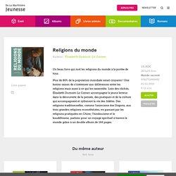 Religions du monde - Elisabeth Dumont-Le Cornec