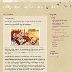 religionsfakta & tankar om tro