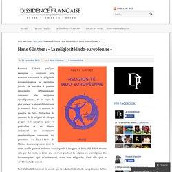 Hans Günther : «La religiosité indo-européenne