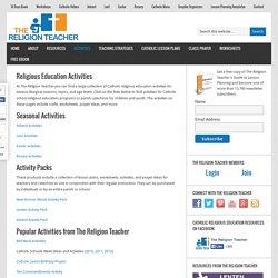Religious Education Activities