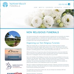 Services for Non-religious Funerals