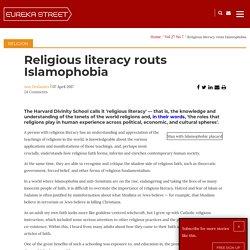 Religious literacy routs Islamophobia