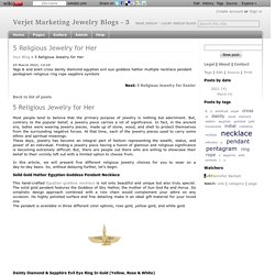 5 Religious Jewelry for Her - Verjet Marketing Jewelry Blogs - 3