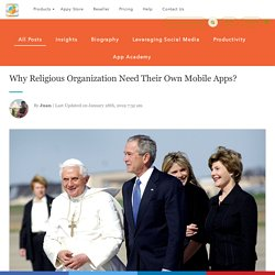 Why Religious Organization Need Their Own Mobile Apps?