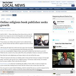 Online religious book publisher seeks growth