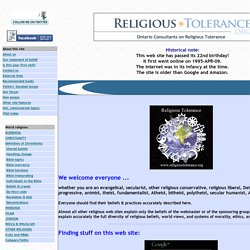 ReligiousTolerance.org by the Ontario Consultants on Religious Tolerance