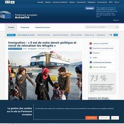 Crise des réfugiés : « La relocalisation est notre devoir politique et moral »