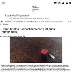 Borne hootoo : relocalisons nos pratiques numériques - Espace pédagogique