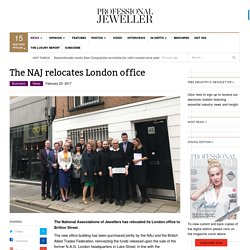 The NAJ relocates London office