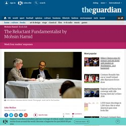 Guardian book club: The Reluctant Fundamentalist by Mohsin Hamid