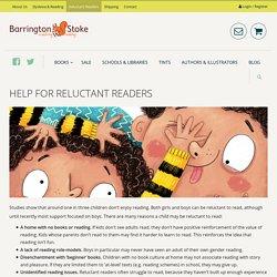 Help for Reluctant Readers - Barrington Stoke