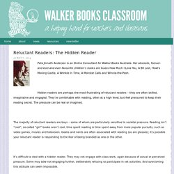 Reluctant Readers: The Hidden Reader