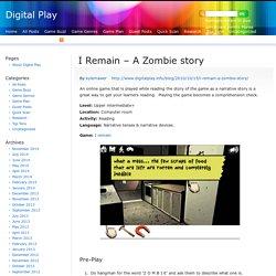 I Remain – A Zombie story