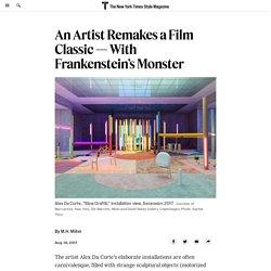 Alex Da Corte Slow GRaffitti An Artist Remakes a Film Classic — With Frankenstein's Monster