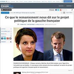 Ce que le remaniement nous dit sur le projet politique de la gauche française