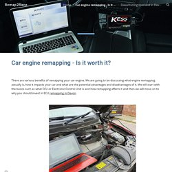 Remap2Race - Car engine remapping - Is it worth it?